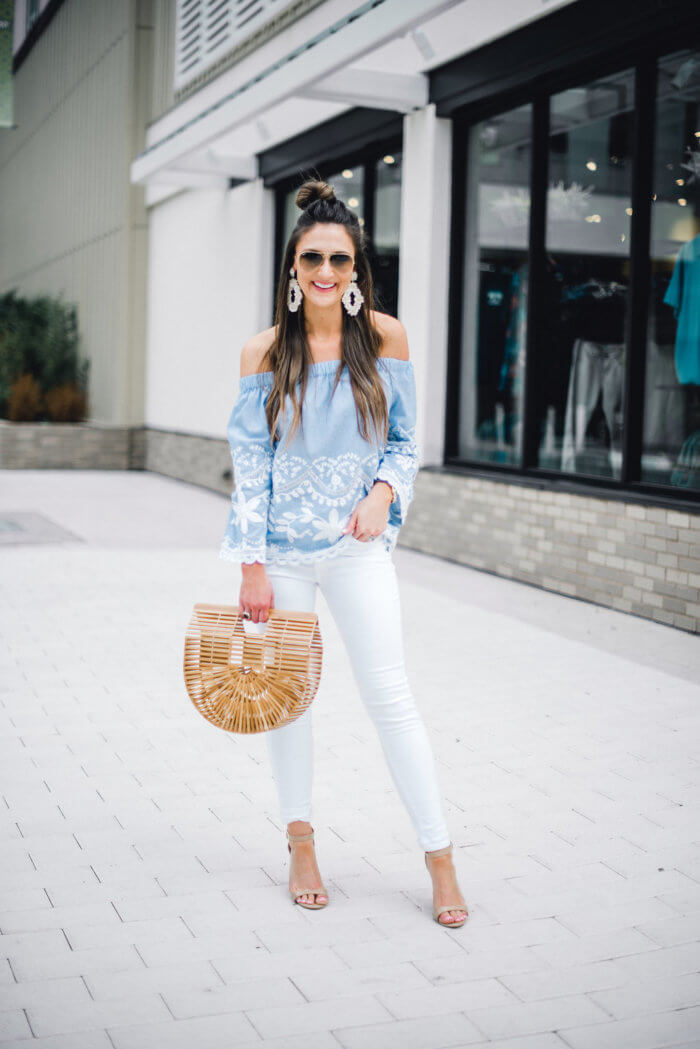 the best white jeans - 10 Top Purchases for April featured by popular Texas fashion blogger, Style Your Senses