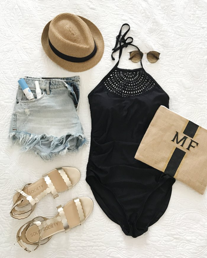 This fashion blogger (who's also a mom) found and reviewed 4 no-fail swimsuits for moms. They are affordable, cute and flattering to boot!