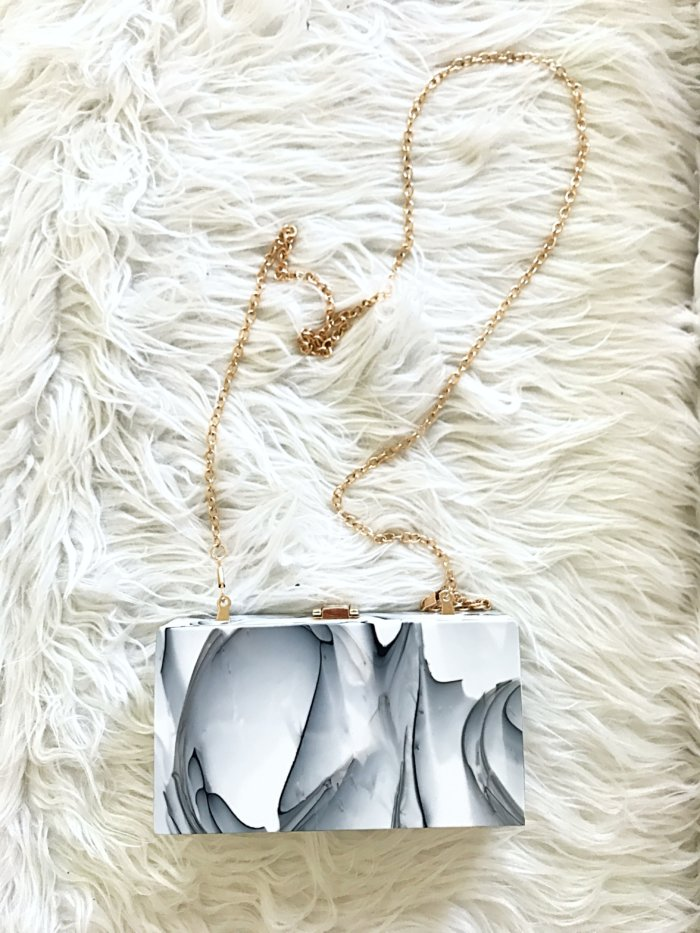 acrylic clutch from amazon - Fashion Finds from Amazon by popular Texas fashion blogger, Style Your Senses