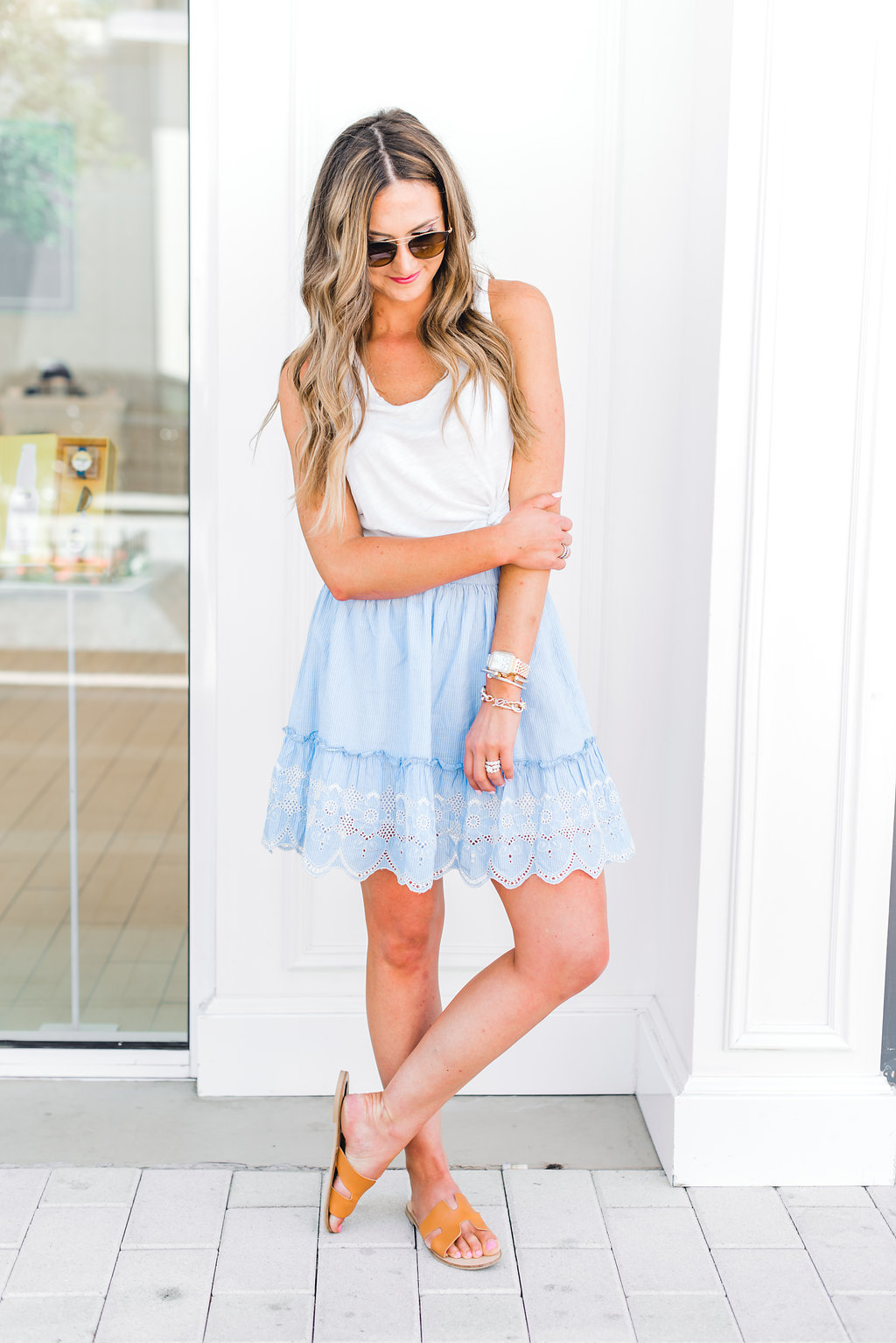 How to Style Cute Summer Skirts featured by popular Texas fashion blogger, Style Your Senses