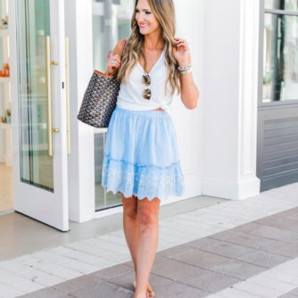 How to Style Cute Summer Skirts