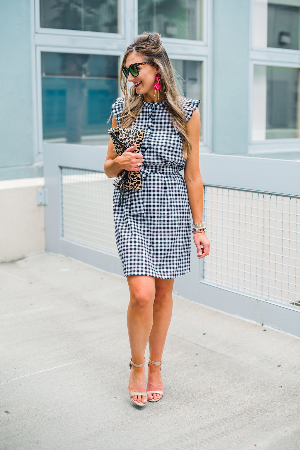 Gingham dress for Summer - Gibson X Hi Sugarplum! at NORDSTROM featured by Texas fashion blogger, Style Your Senses - Gibson X Hi Sugarplum! at NORDSTROM featured by Texas fashion blogger, Style Your Senses