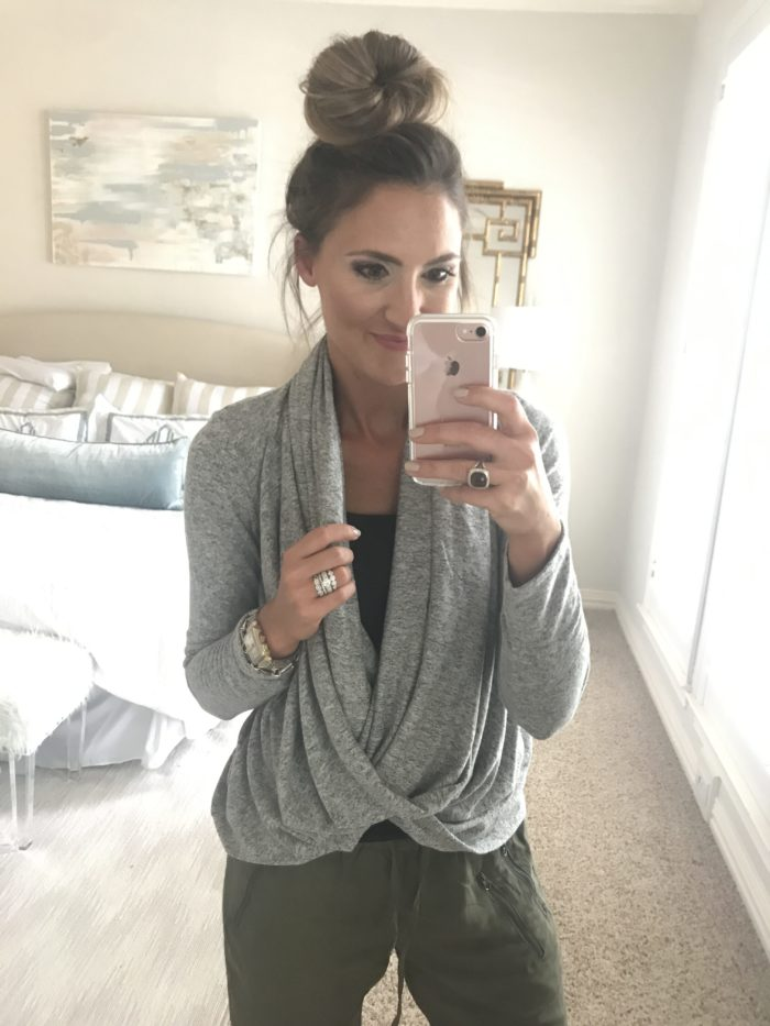 Nordstrom Anniversary Sale featured by popular Texas fashion blogger, Style Your Senses | Convertible Cardigan