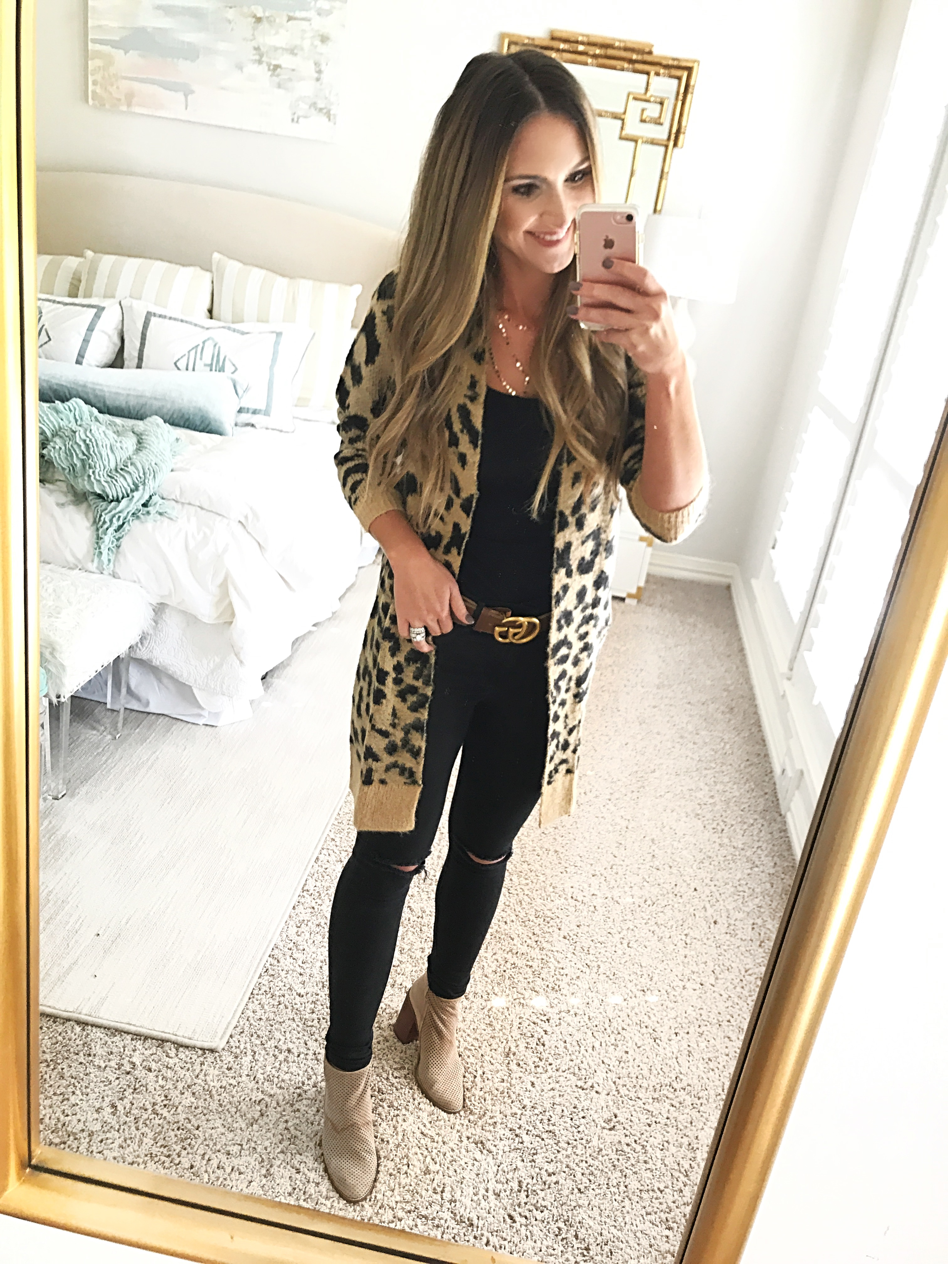 Nordstrom | Volcom | Leopard Print | 6 Cute Affordable Sweaters for Fall to BUY NOW! featured by popular Dallas fashion blogger Style Your Senses