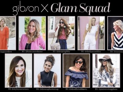 Gibson X Glam | Our Collaboration with Gibson + Nordstrom!