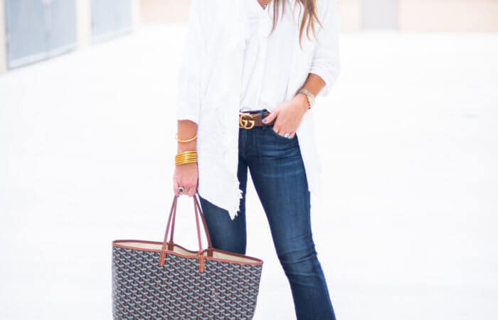 How to Style Denim Flare Jeans