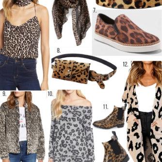 Leopard Print Fashion Pieces Under $100