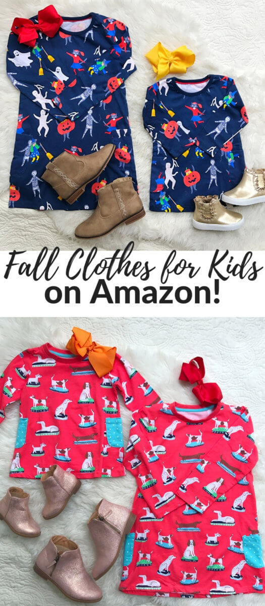 amazon clothes for kids | Kids Fall Capsule Wardrobe on Amazon featured by top Dallas fashion blog, Style Your Senses