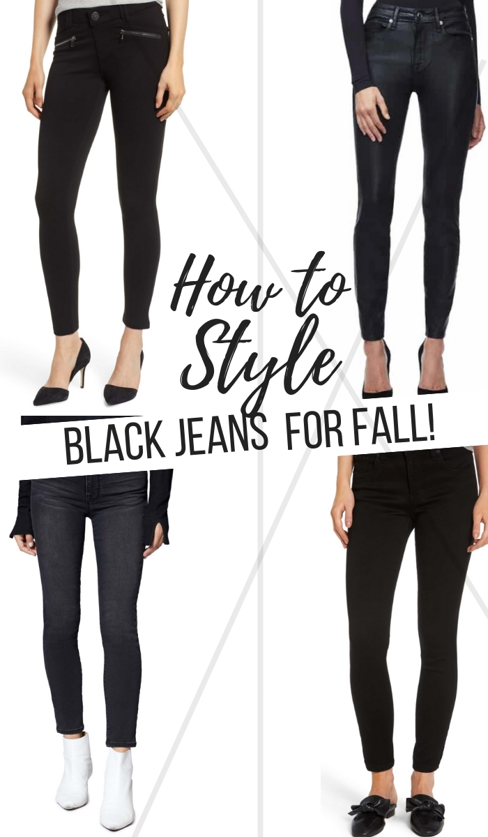 Fall/Winter Fashion | Best Value | Most Versatile | Best Fit | Best for Holiday | How to Style Black Jeans for Fall + Which Ones to Buy Now! featured by top Dallas fashion blog Style Your Senses