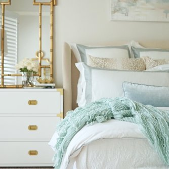 Calming and serene master bedroom | Master Bedroom Upgrades with Frette Bedding featured by top Dallas lifestyle blog Style Your Senses