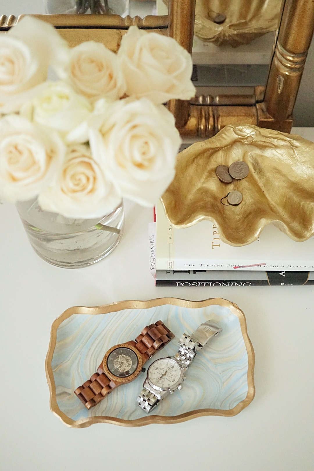 how to style a bedside table | Master Bedroom Upgrades with Frette Bedding featured by top Dallas lifestyle blog Style Your Senses