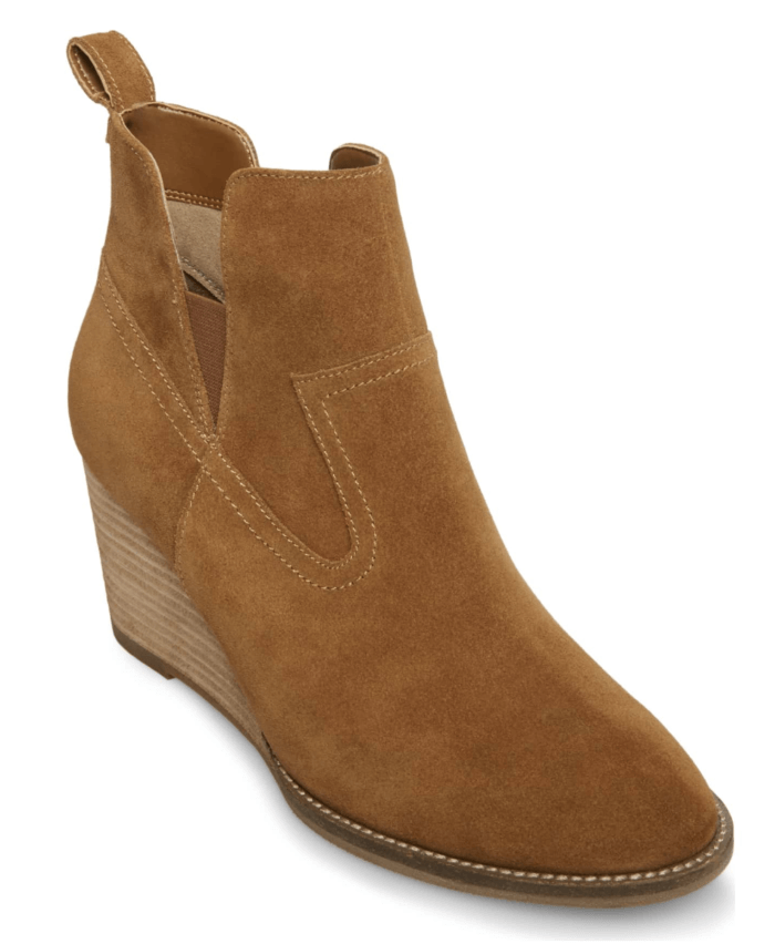 BLONDO WEDGE BOOTIE
