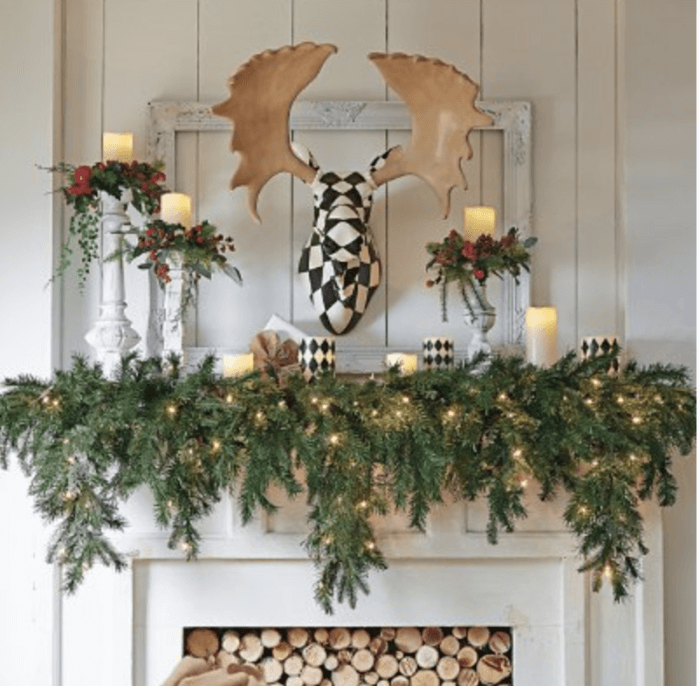 mantle garland