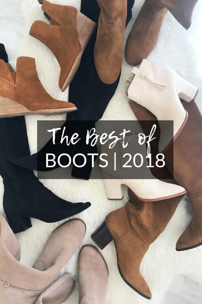 the best boots for fall and winter 2018