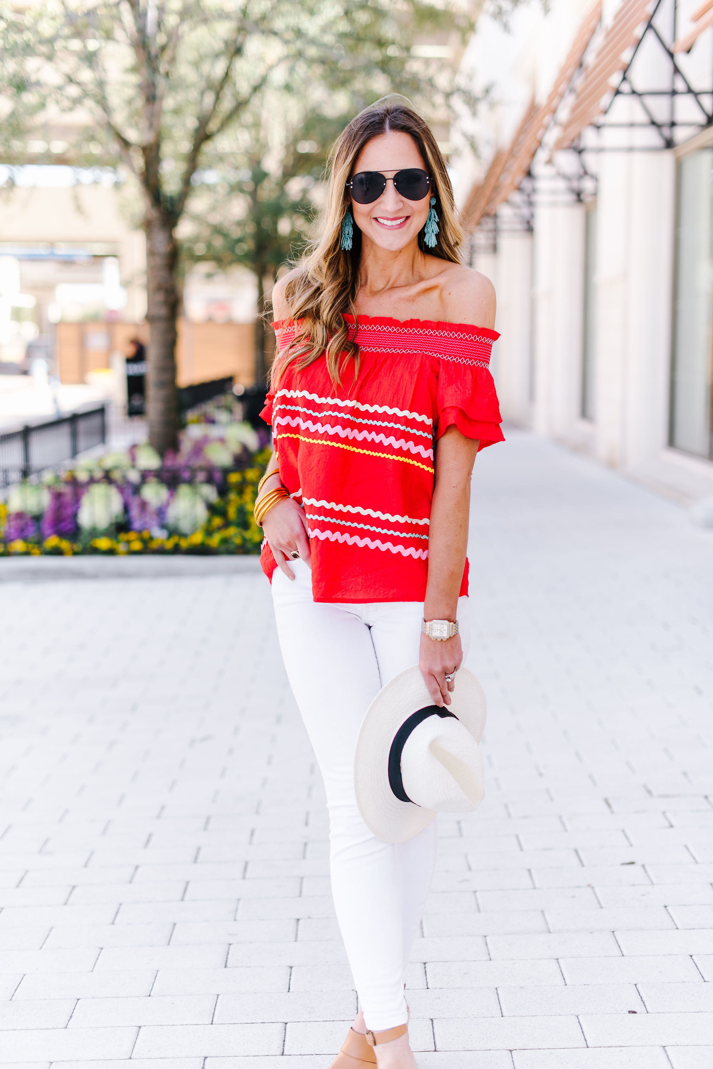 ric rac off the shoulder top | Shop Style Your Senses