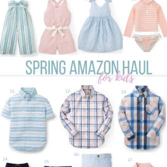 Spring Amazon Haul for kids