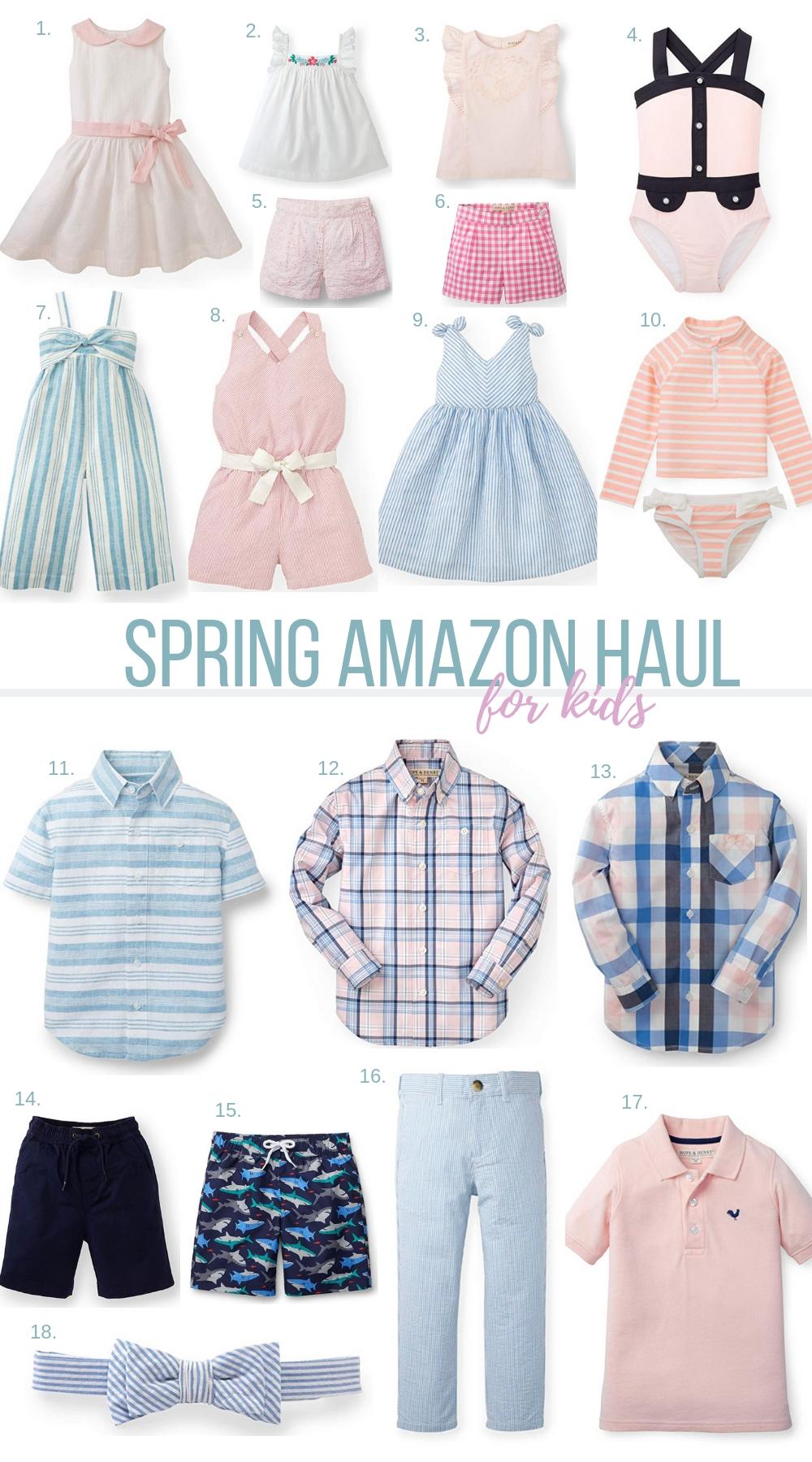 Amazon Fashion Haul for Kids | Spring 2019