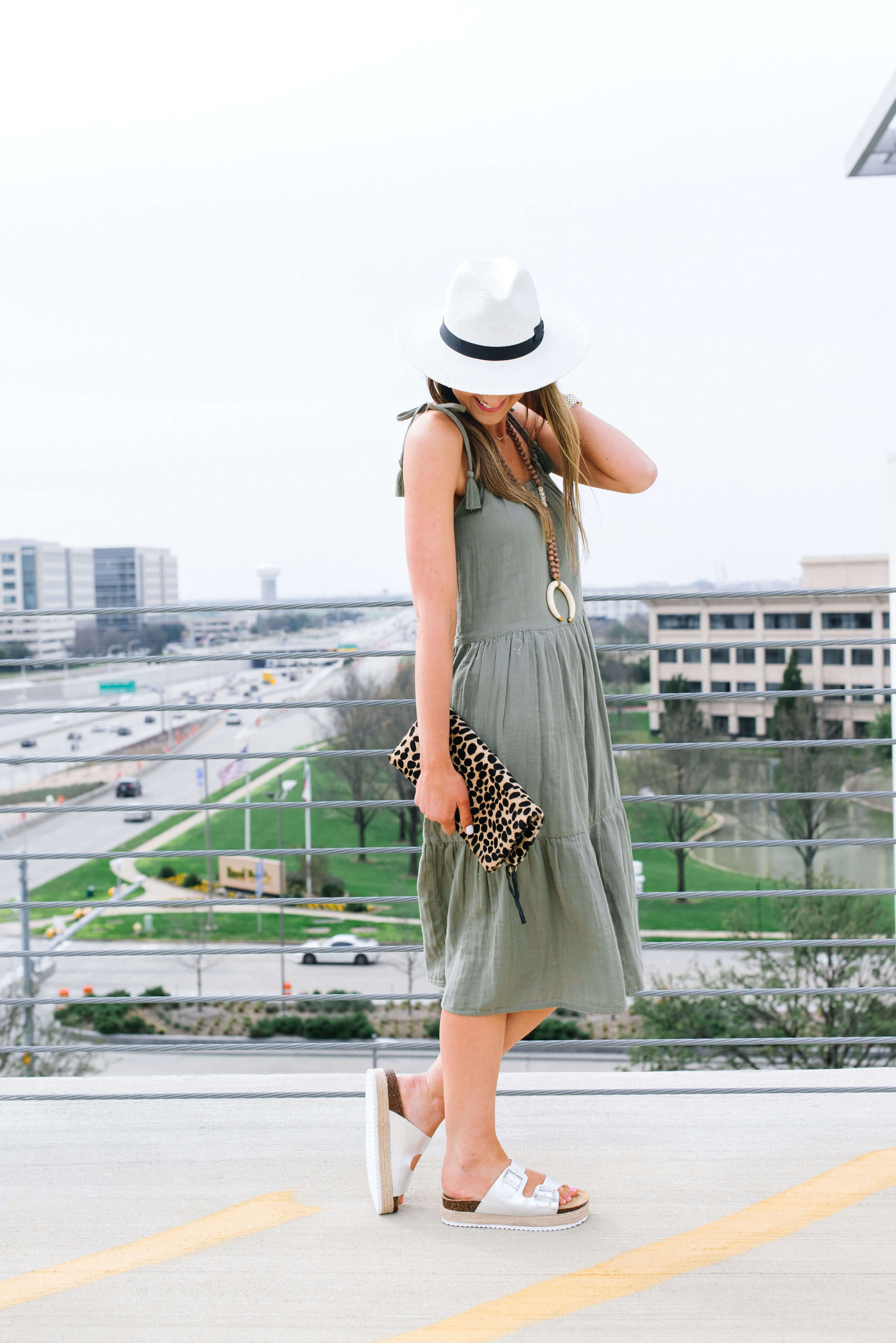 tie shoulder sundress from Marks and Spencer | Style Your Senses