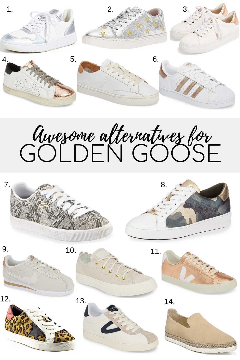 Golden Goose dupes | Style Your Senses