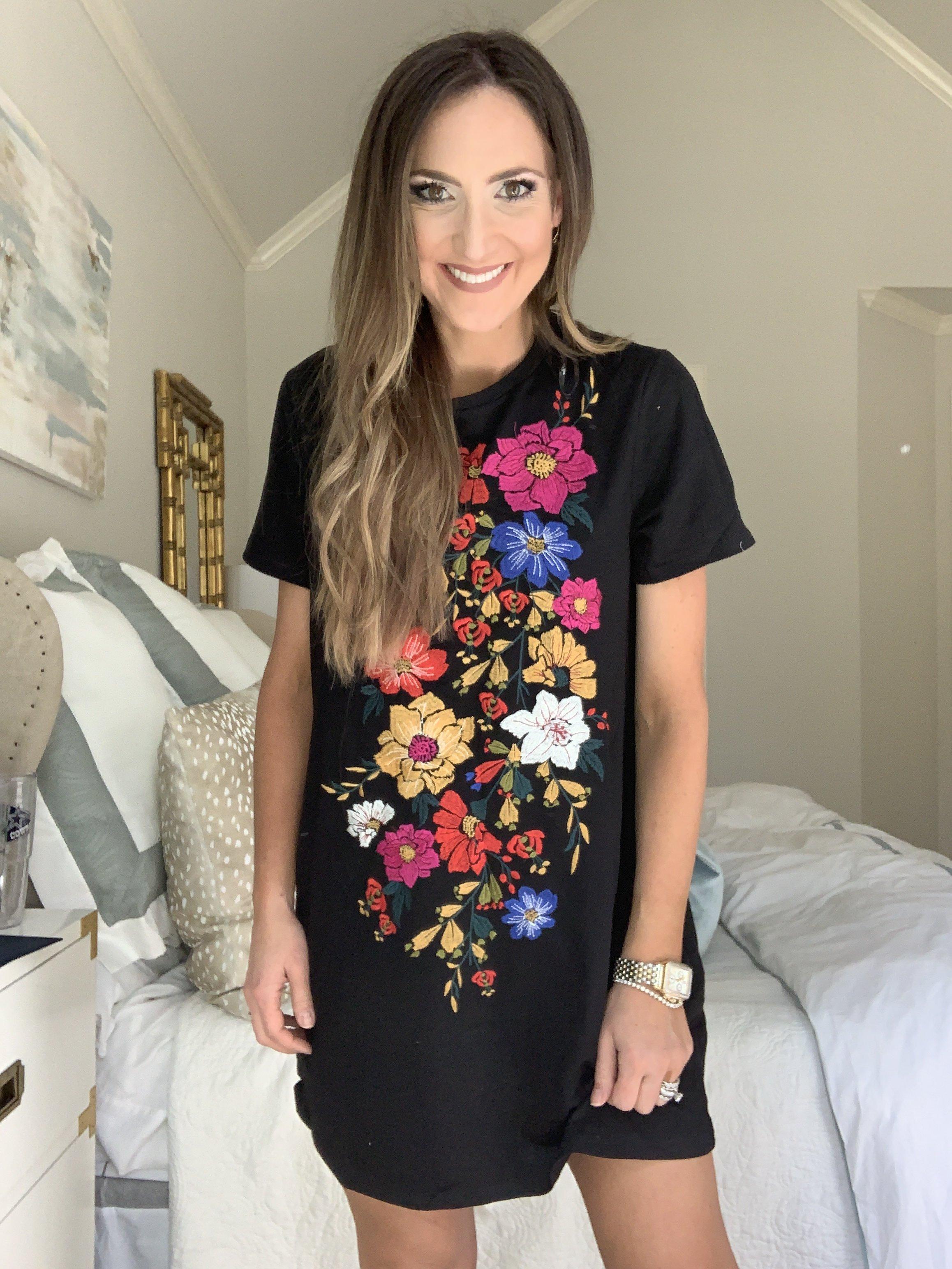 Amazon Fashion Haul Embroidered Dress   Style Your Senses