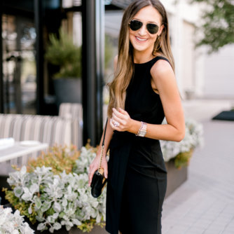 black sleeveless Ralph Lauren Dress | Style Your Senses