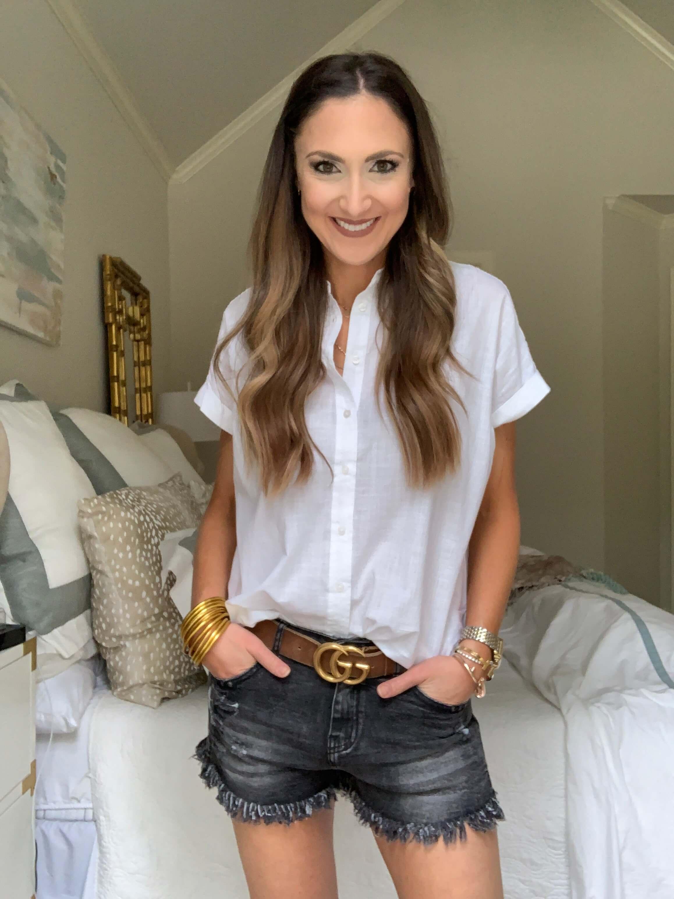 Amazon Fashion Haul | white button up | Style Your Senses
