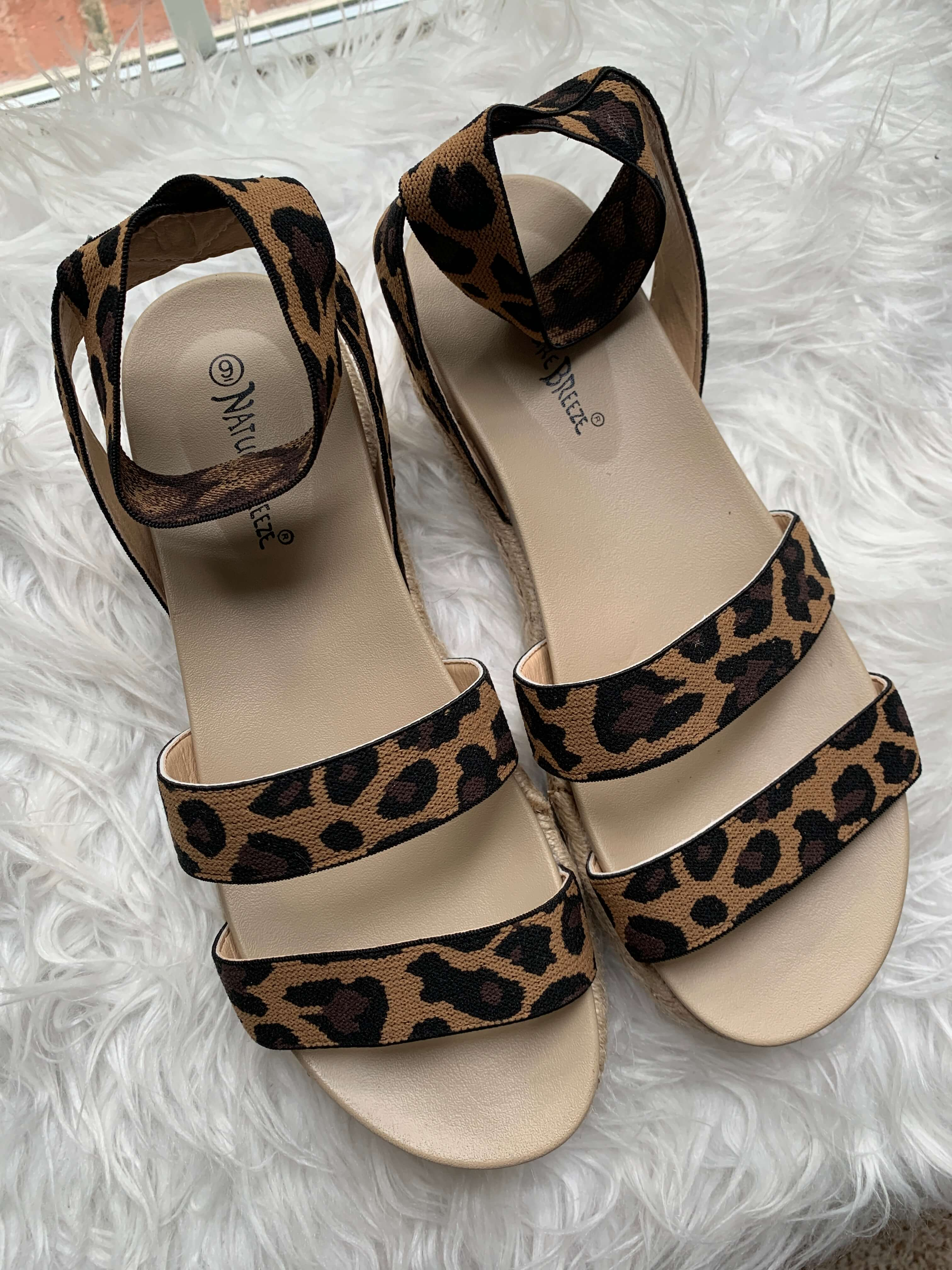 Amazon Fashion Haul | leopard espadrille flatform | Style Your Senses
