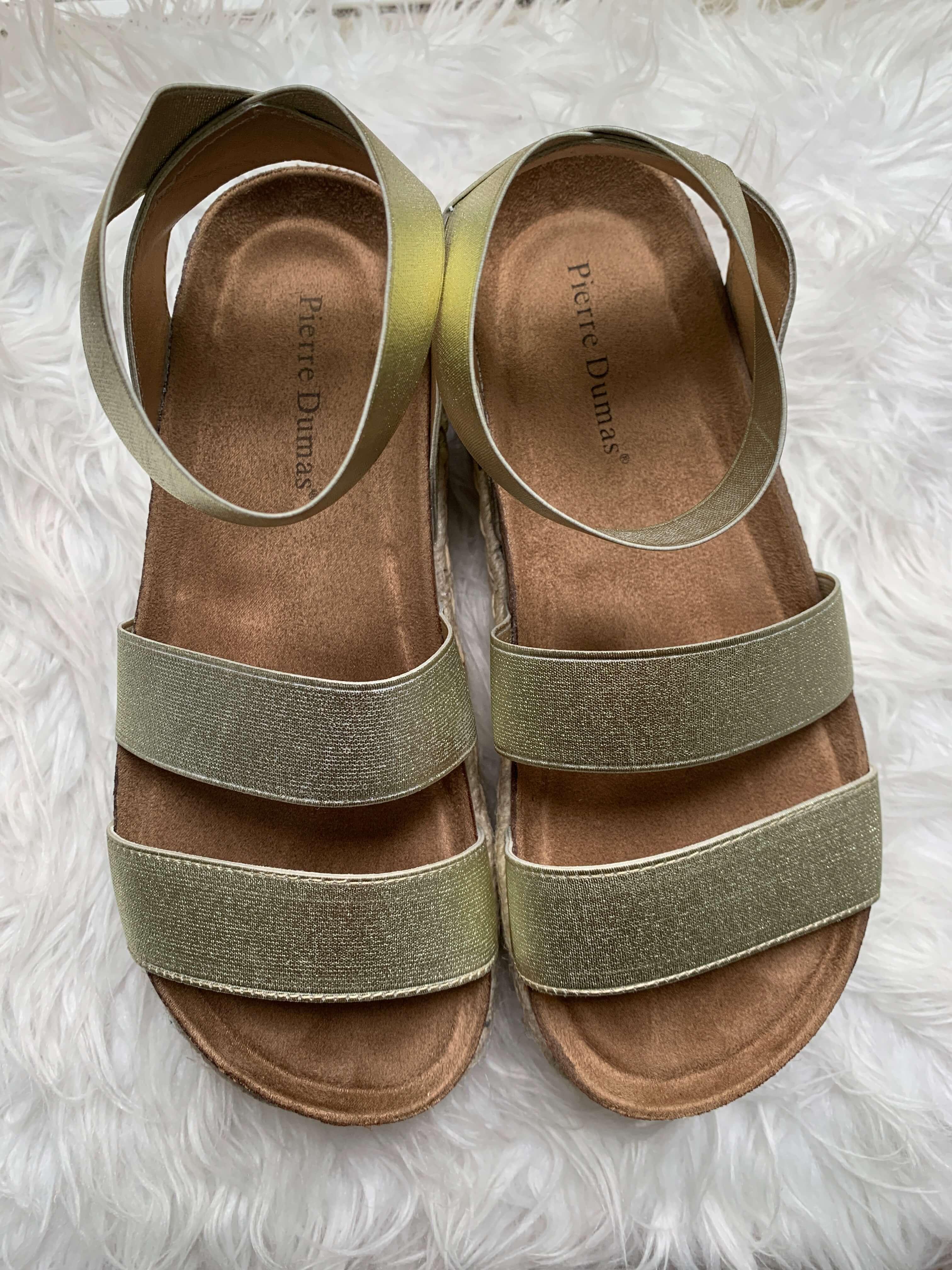 Amazon Fashion Haul | gold espadrille flatform | Style Your Senses