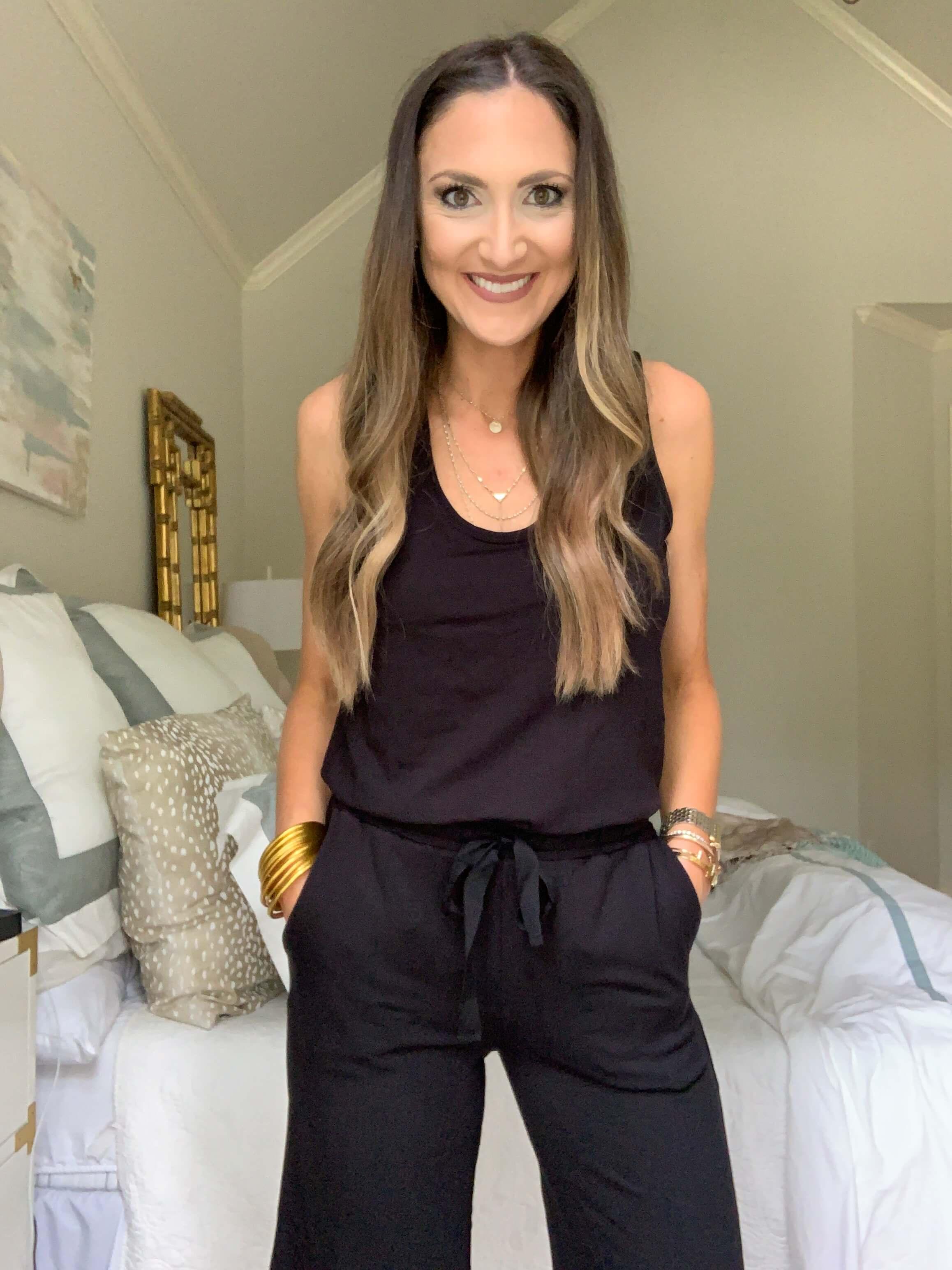 Amazon Fashion Haul | black jumpsuit | Style Your Senses