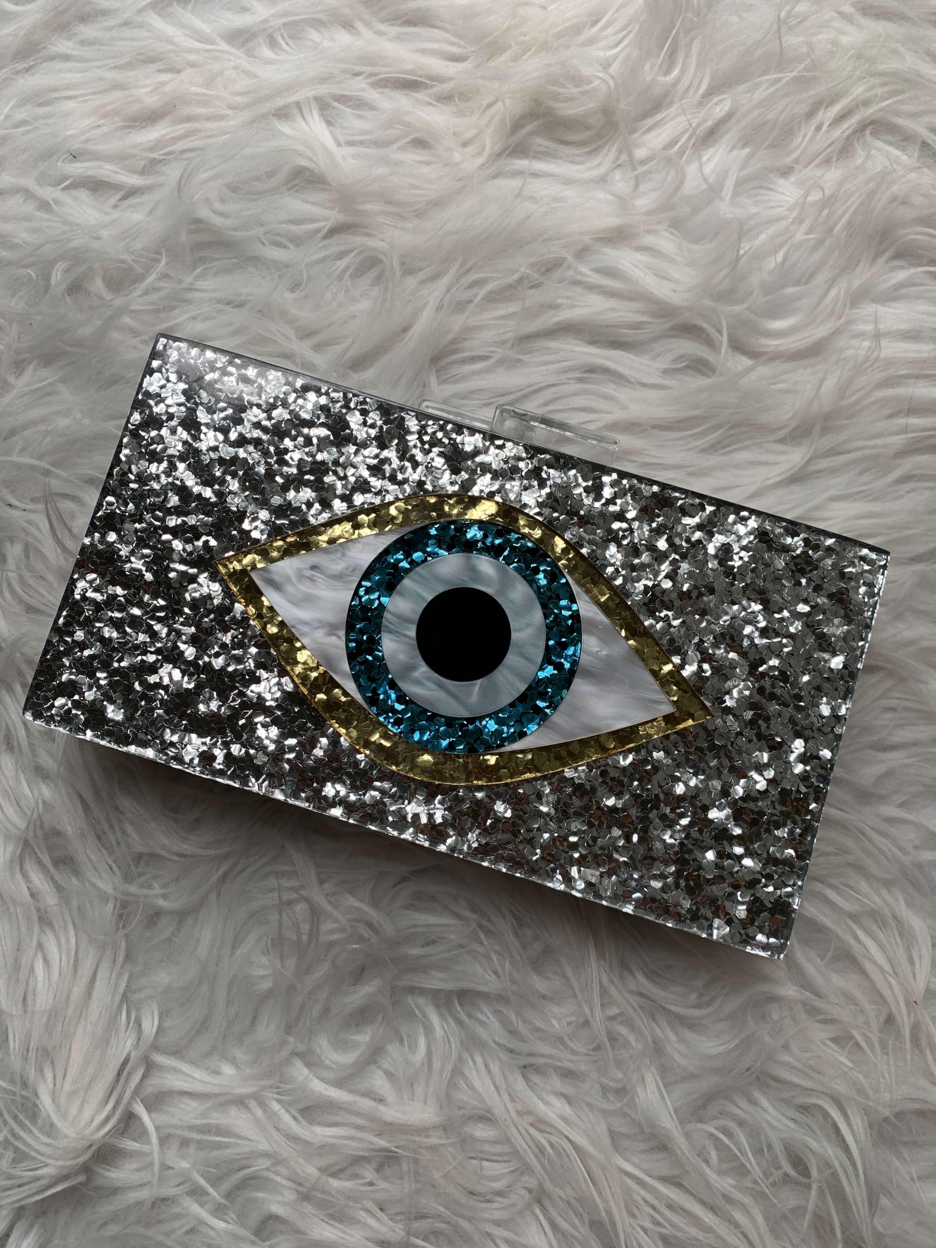 Amazon Fashion Haul evil eye clutch clutch | Style Your Senses