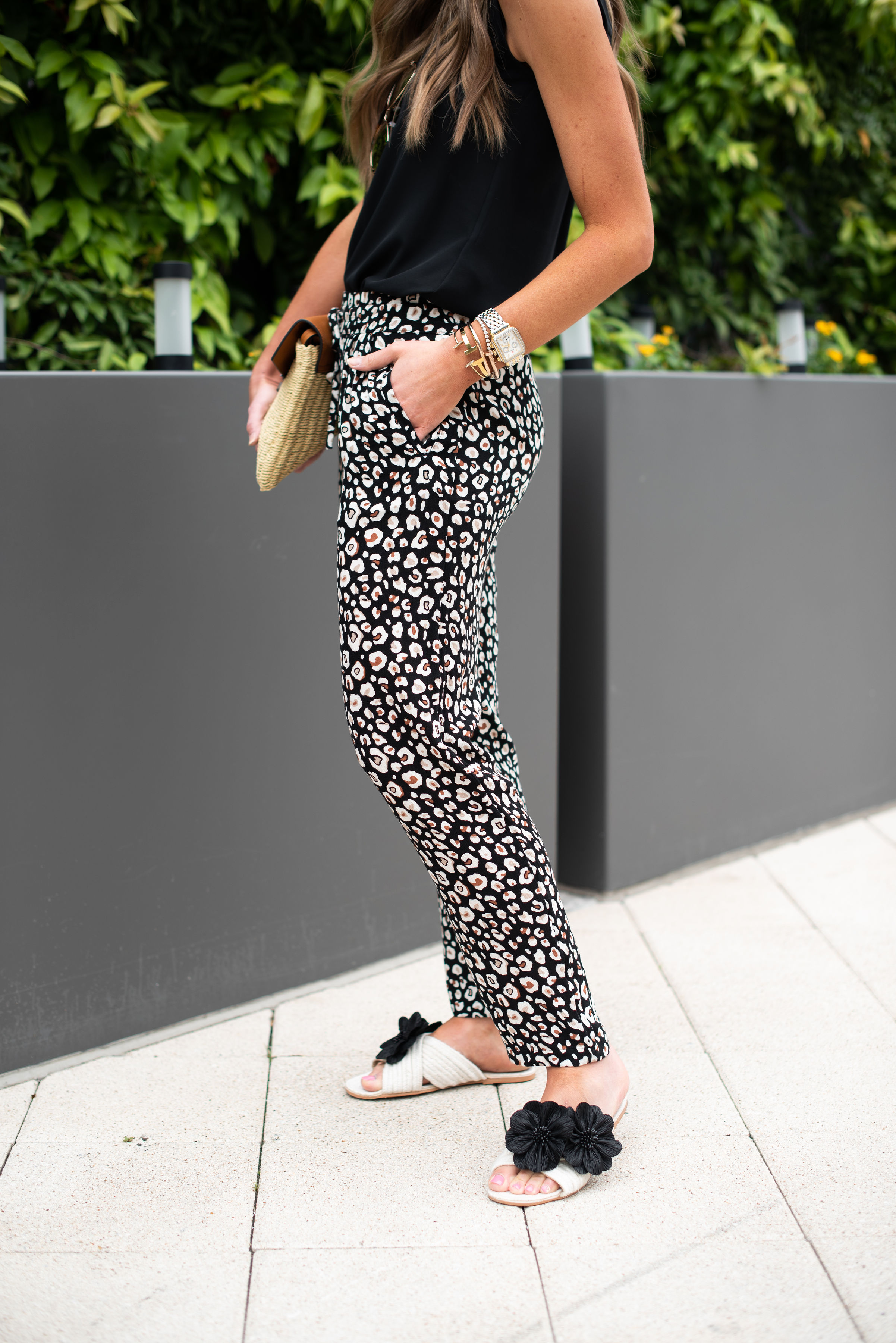 Leopard Jogger Pants   Marks and Spencer   Style Your Senses