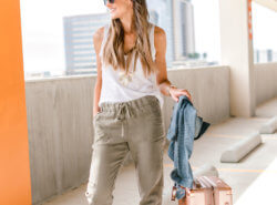 how to style linen joggers | Style Your Senses