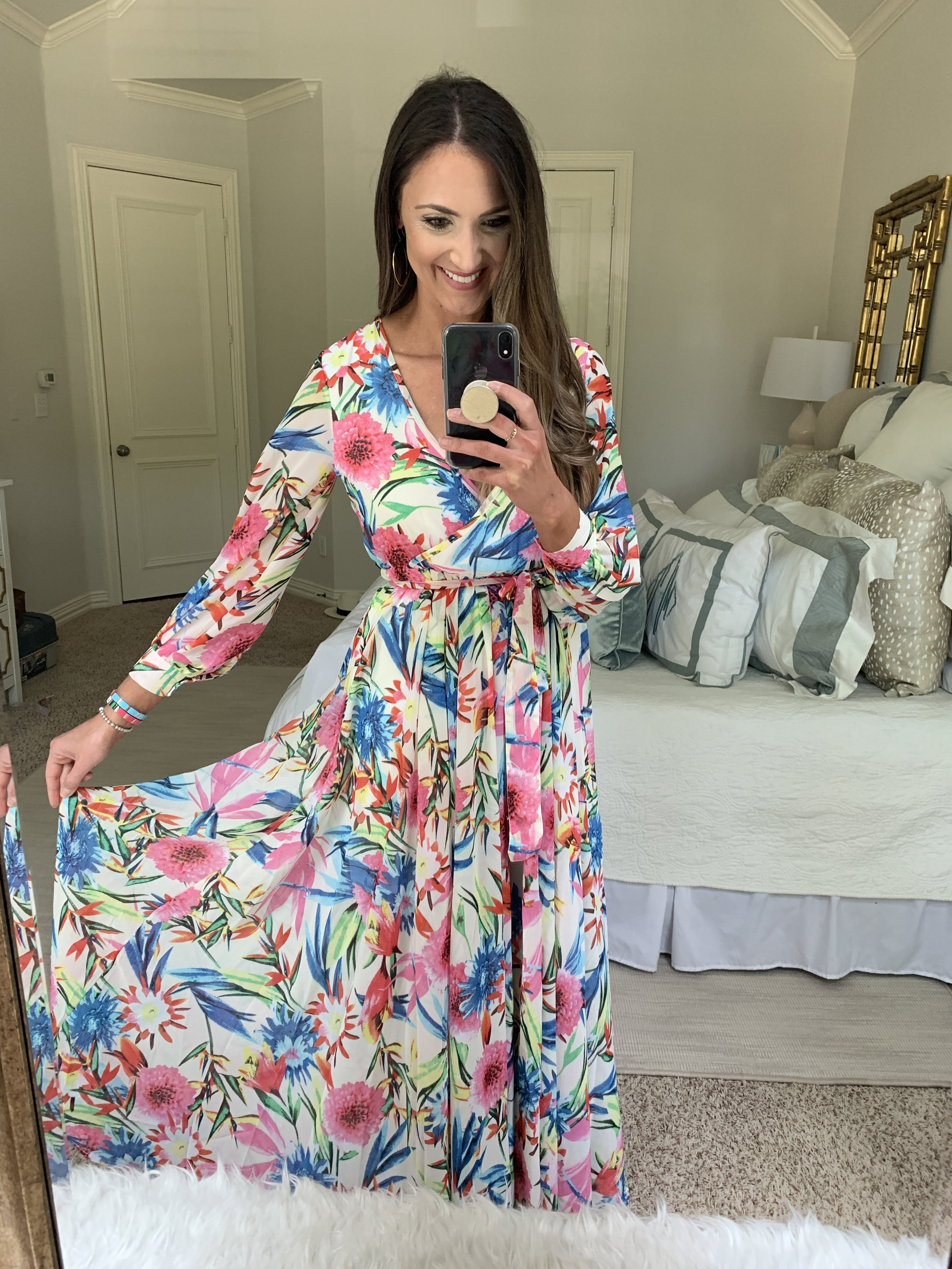 Floral Maxi Dress from amazon | Amazon Fashion Haul | Style Your Senses