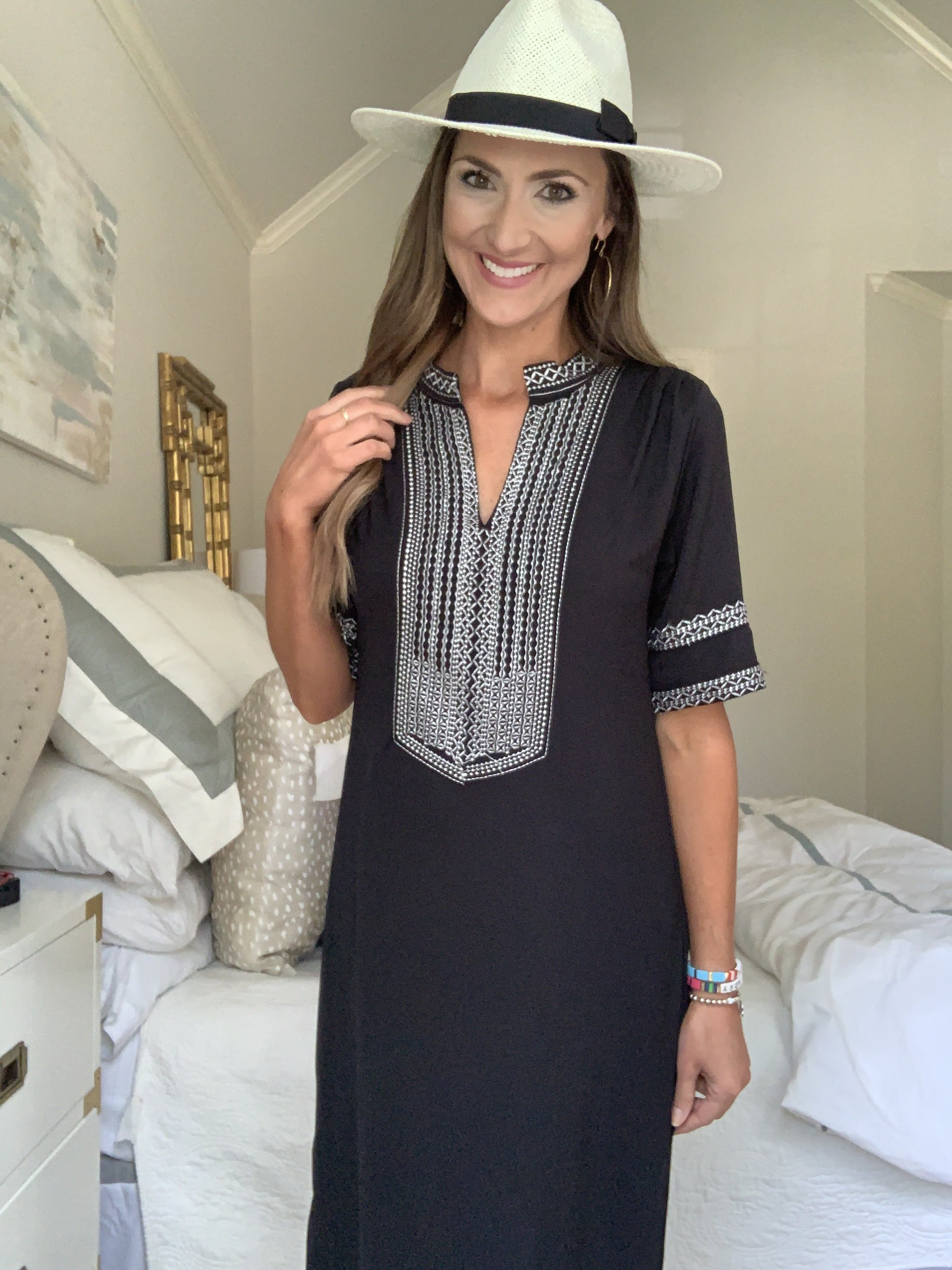 Embroidered caftan from Amazon | Style Your Senses