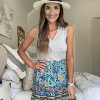 Floral skirt from amazon | Style Your Senses