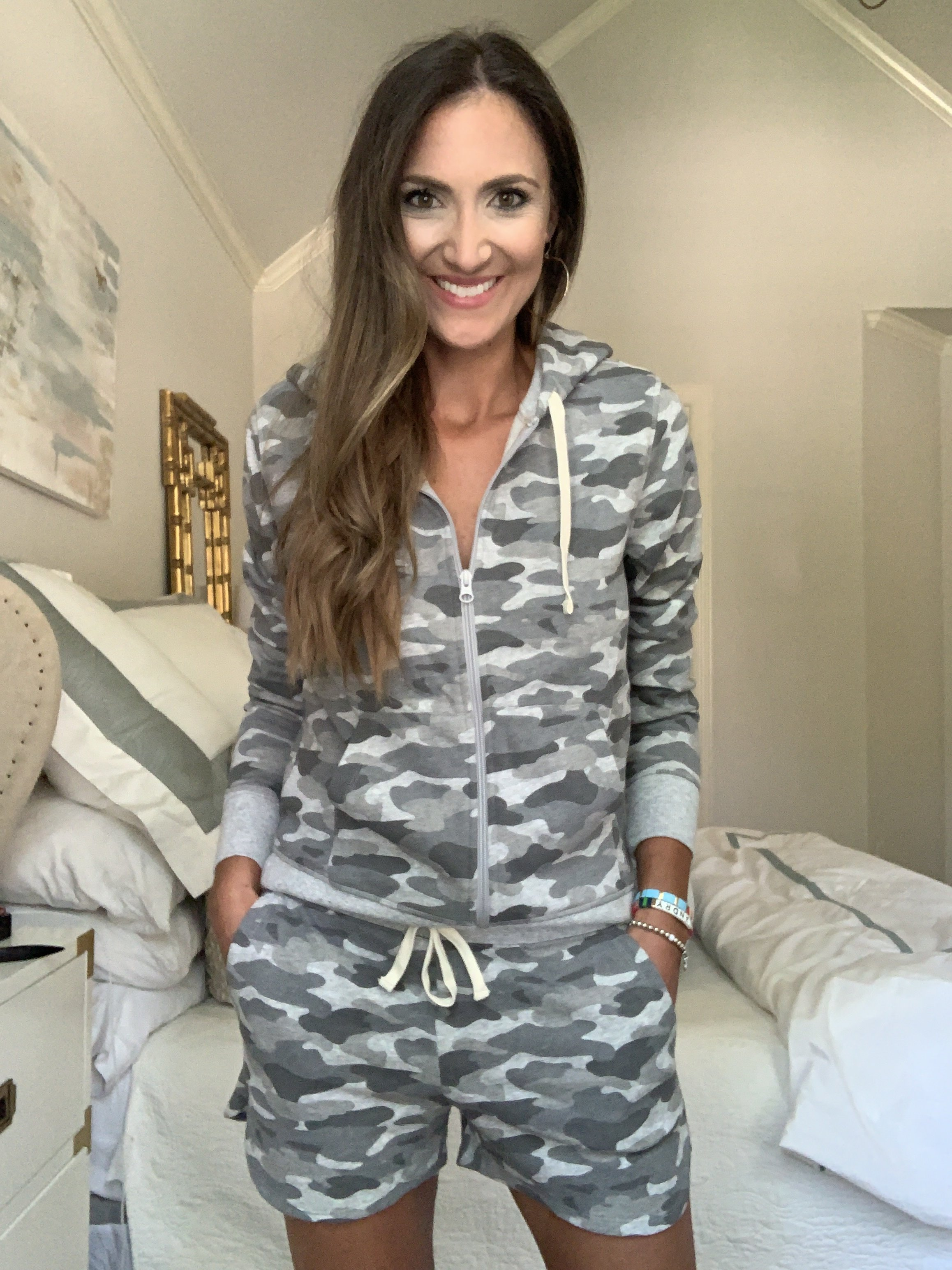Camo two piece loungewear set | Style Your Senses