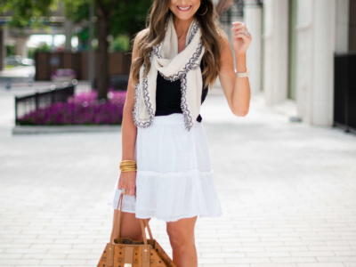 One Skirt Worn 4 Ways for Summer!