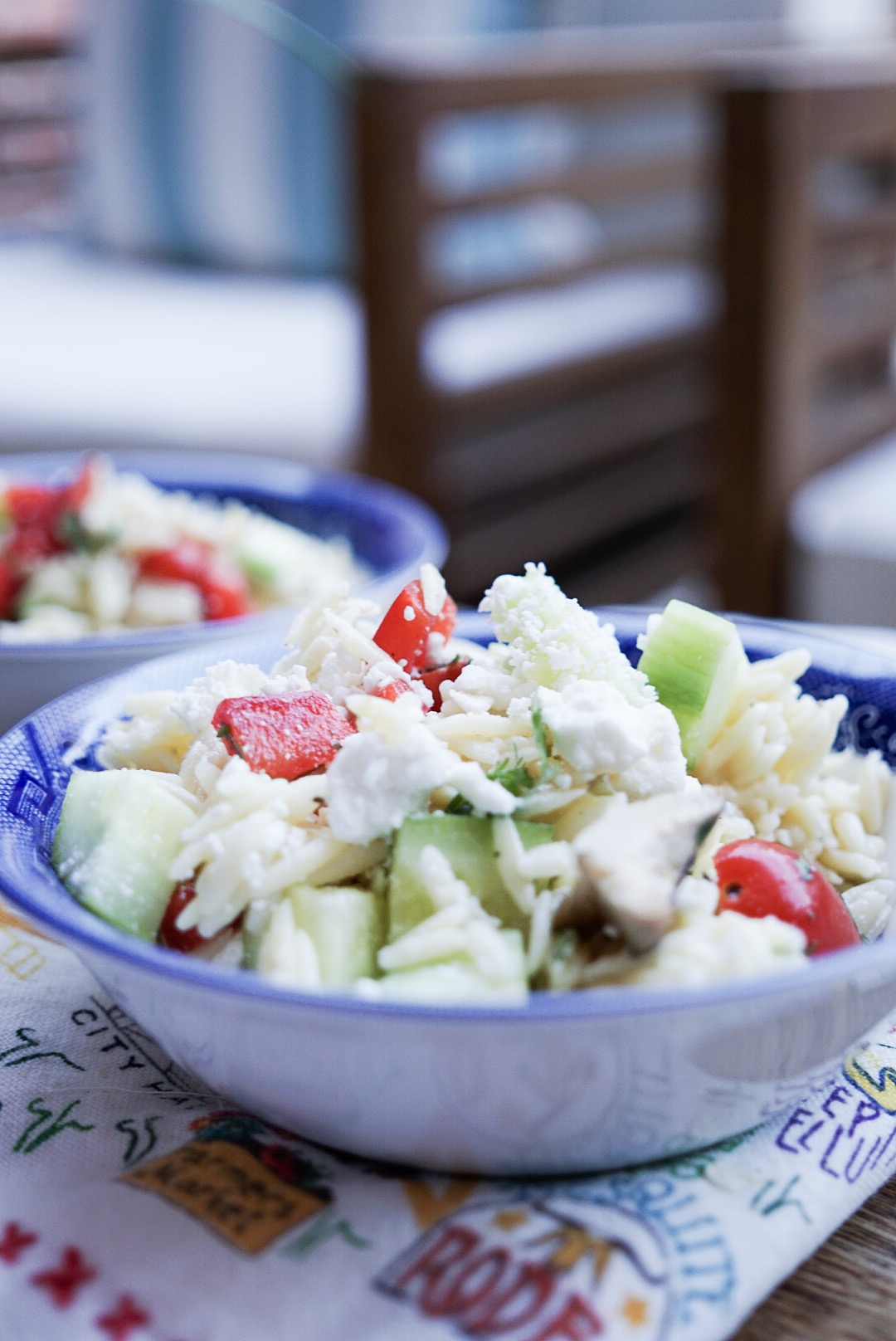 Orzo Greek Salad | Summer Dinner Idea | Style Your Senses