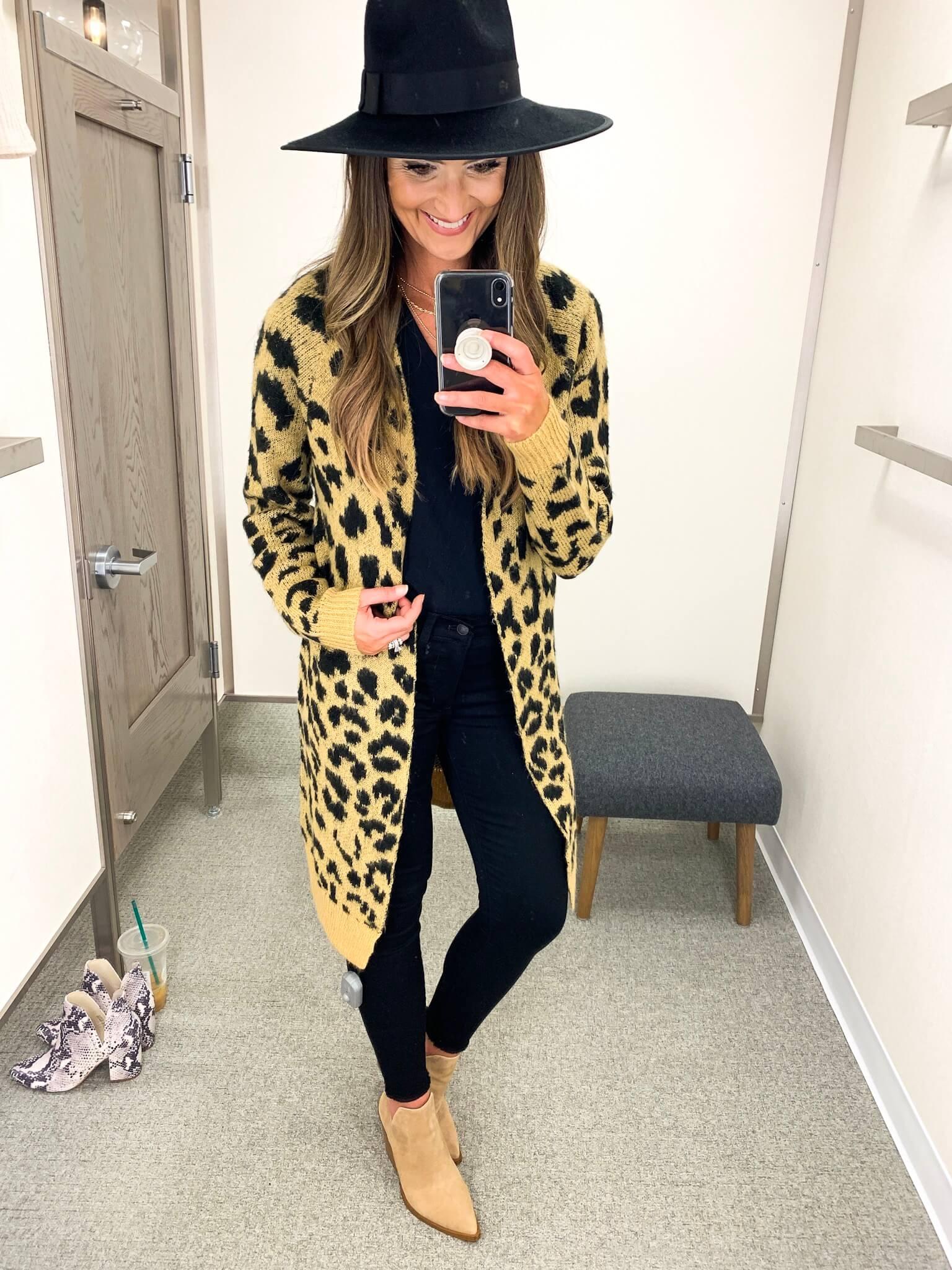 Nordstrom Anniversary Sale Finds   Leopard Cardigan