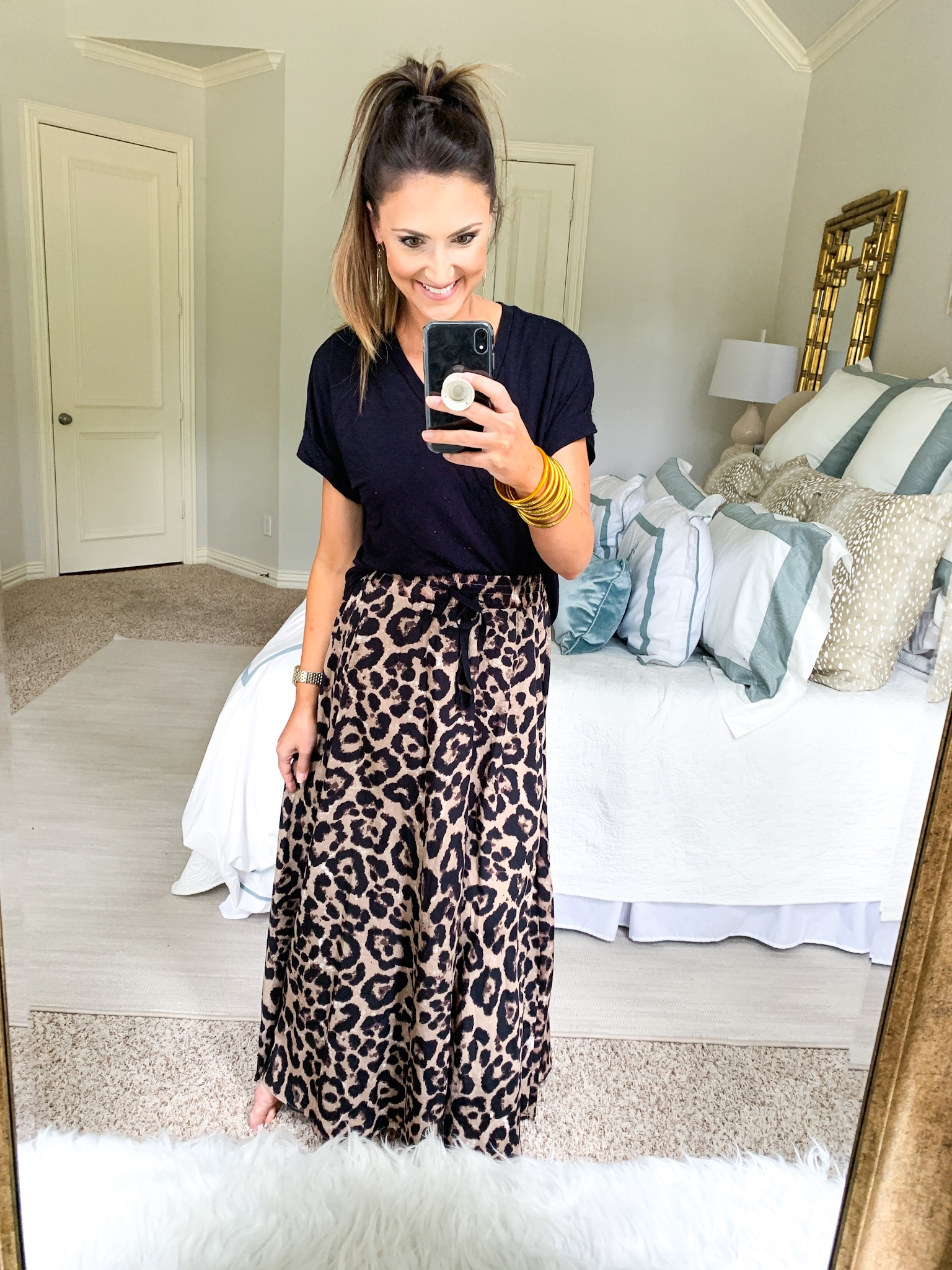 Leopard Midi Skirt | Amazon Fashion Haul | Style Your Senses