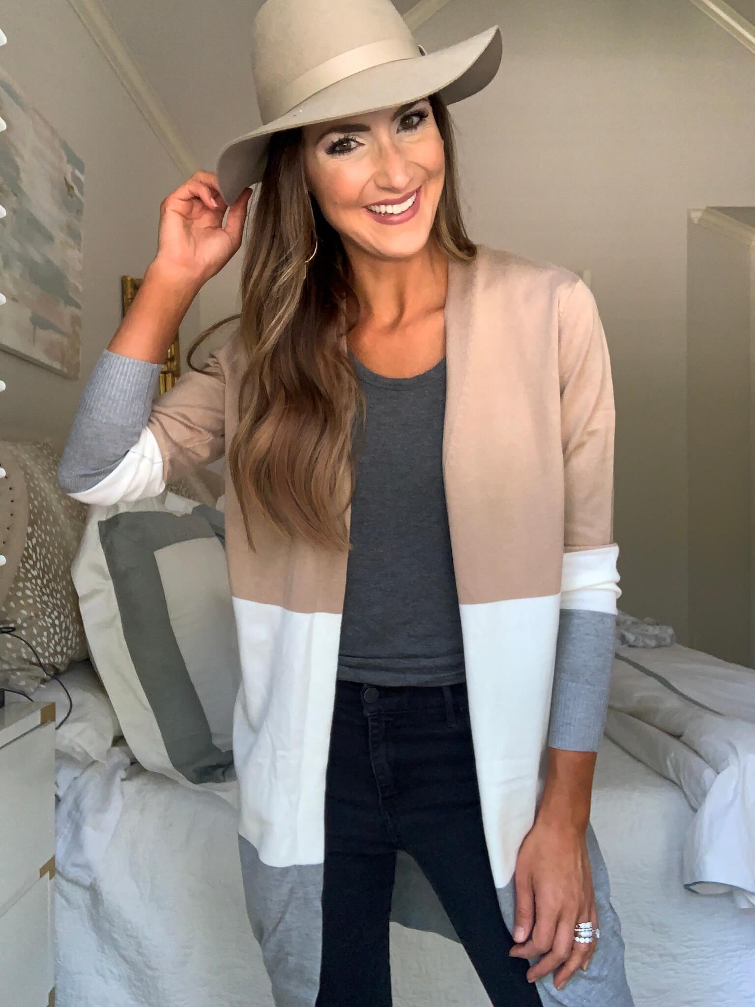Amazon Fashion Haul | Style Your Senses | Amazon Prime haul | colorblock cardigan