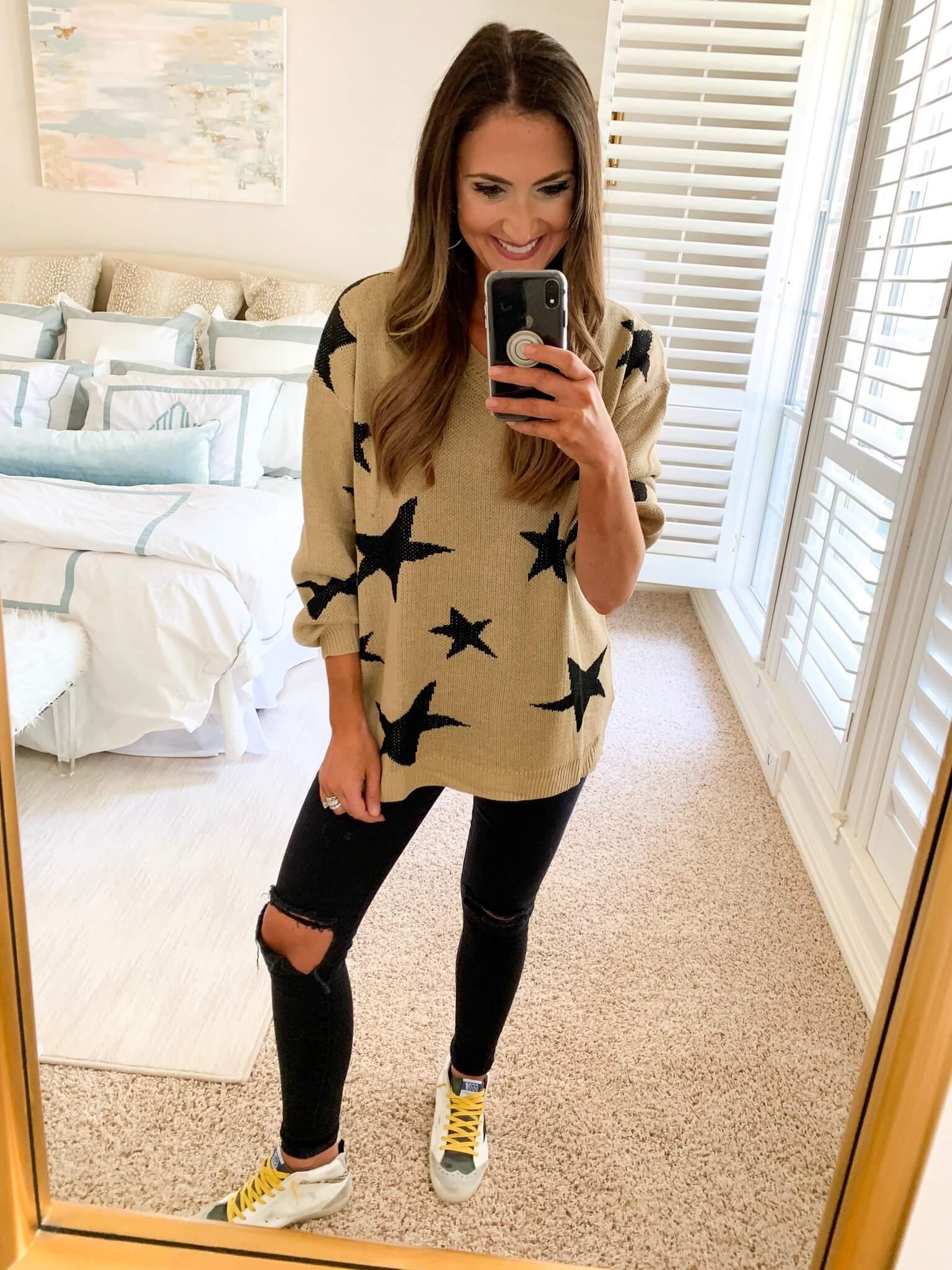 Amazon Fashion Haul | Style Your Senses | Amazon Prime haul | Star Sweater