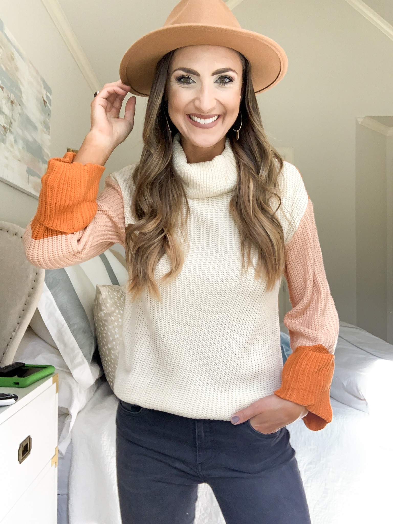 colorblock sweater | amazon fashion haul for Fall | Style your senses