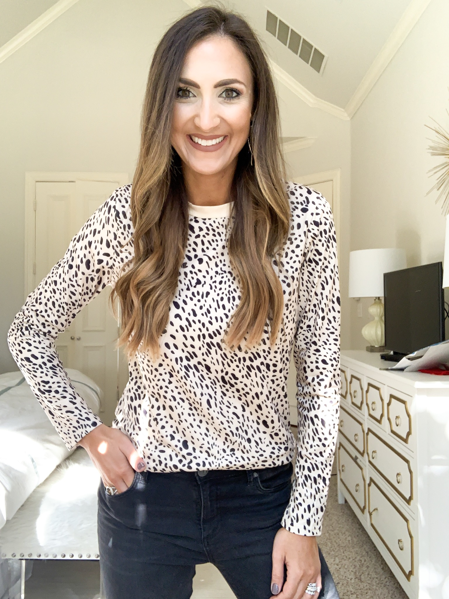 leopard sweater | amazon fashion haul for Fall | Style your senses