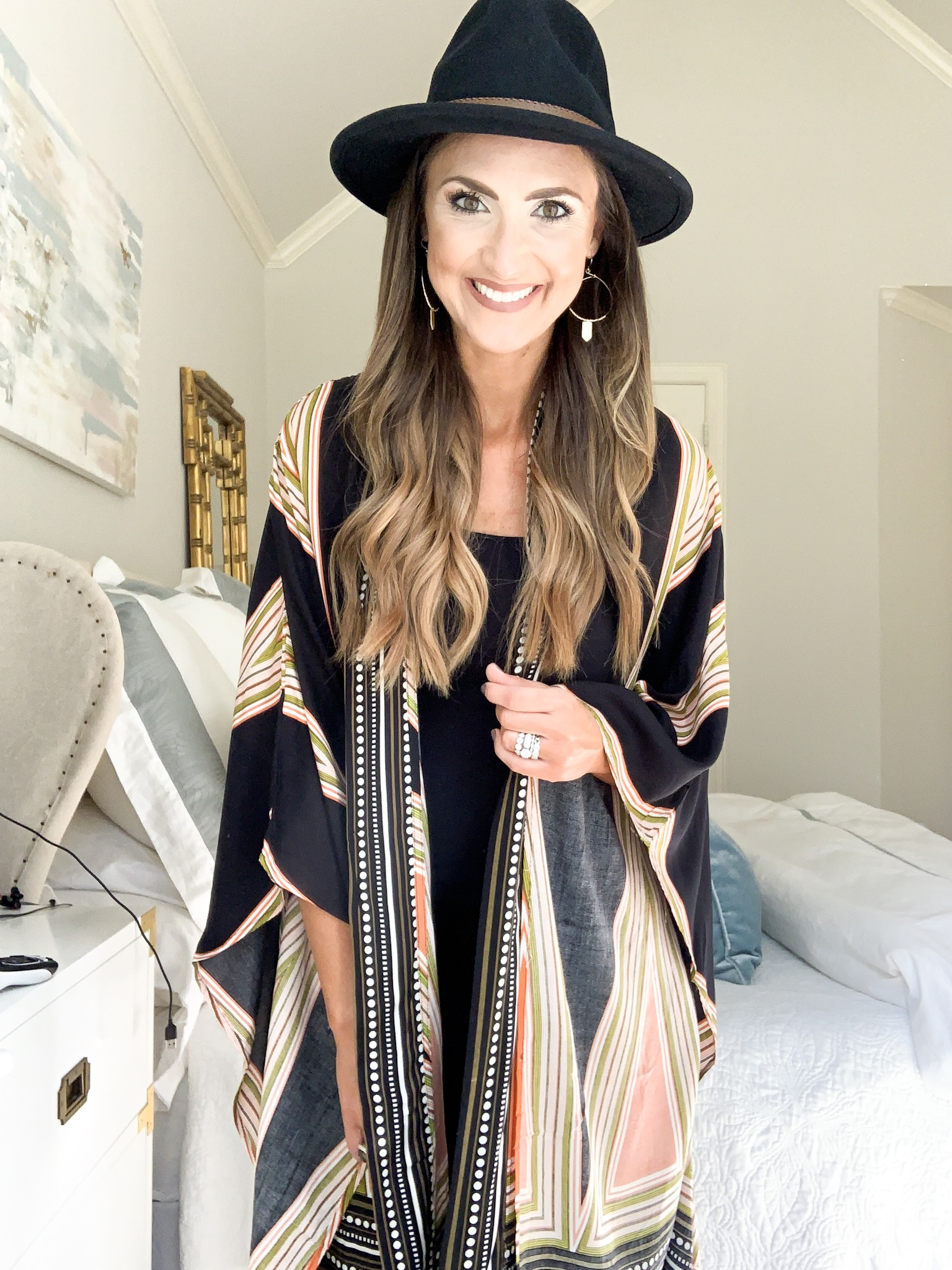 boho kimono | amazon fashion haul for Fall | Style your senses