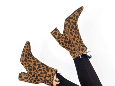 How to Style Leopard Booties for Fall