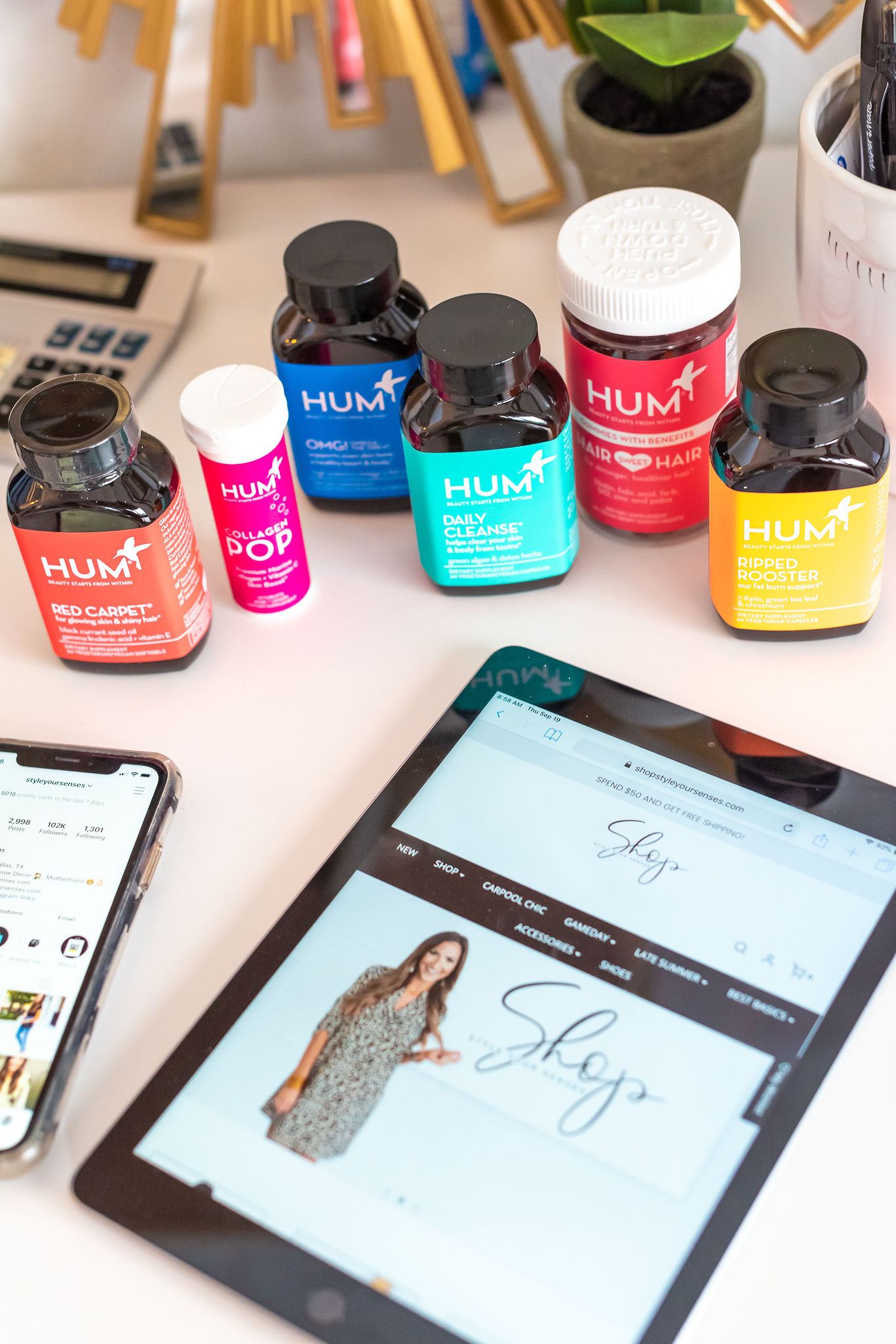 HUM Nutrition | Style Your Senses