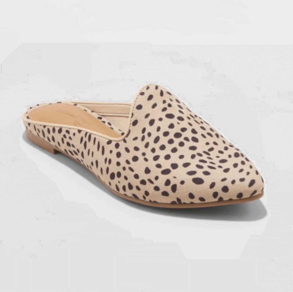 animal print mules | leopard mules from target