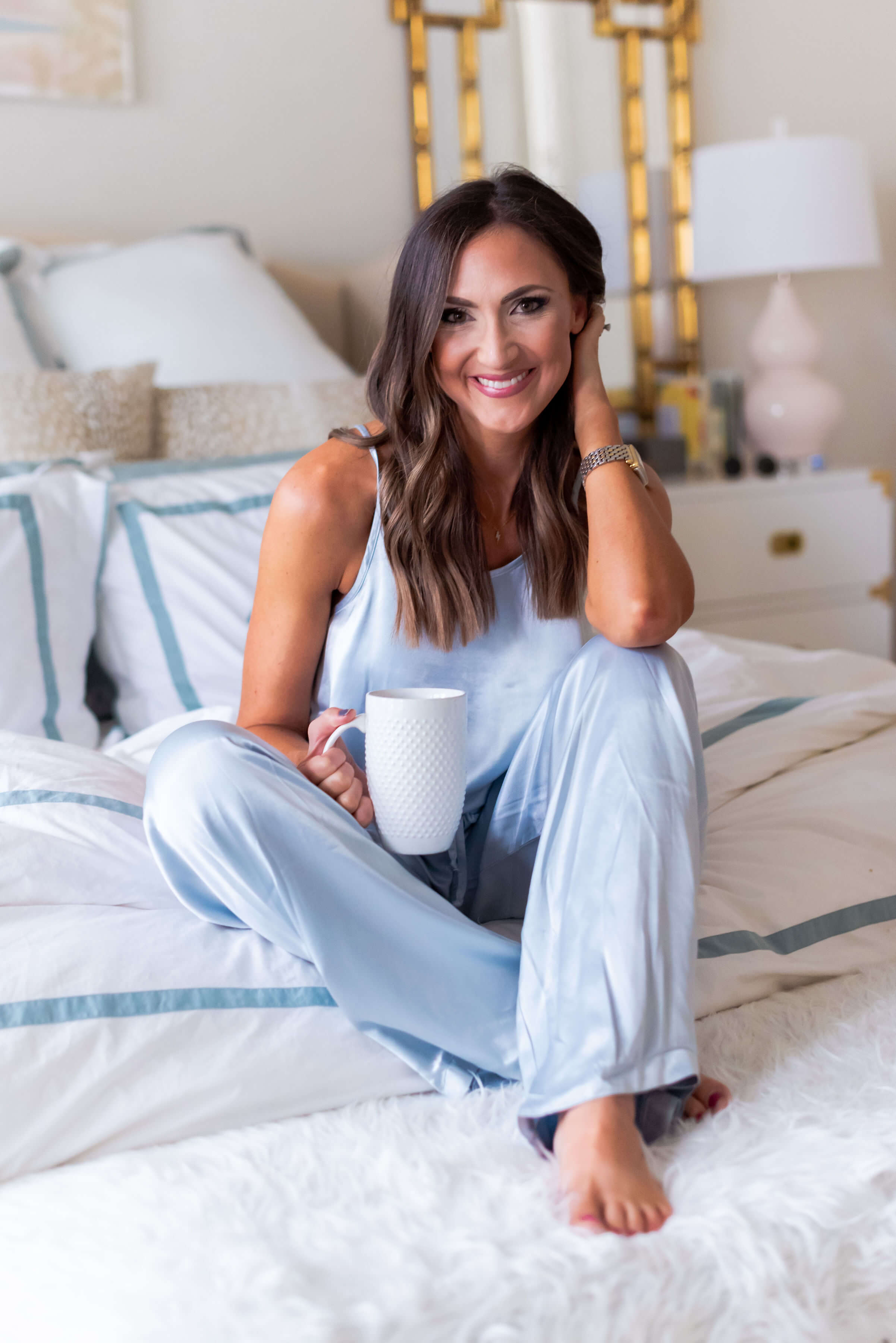 Bare Necessities Satin Pajama Set | Style Your Senses