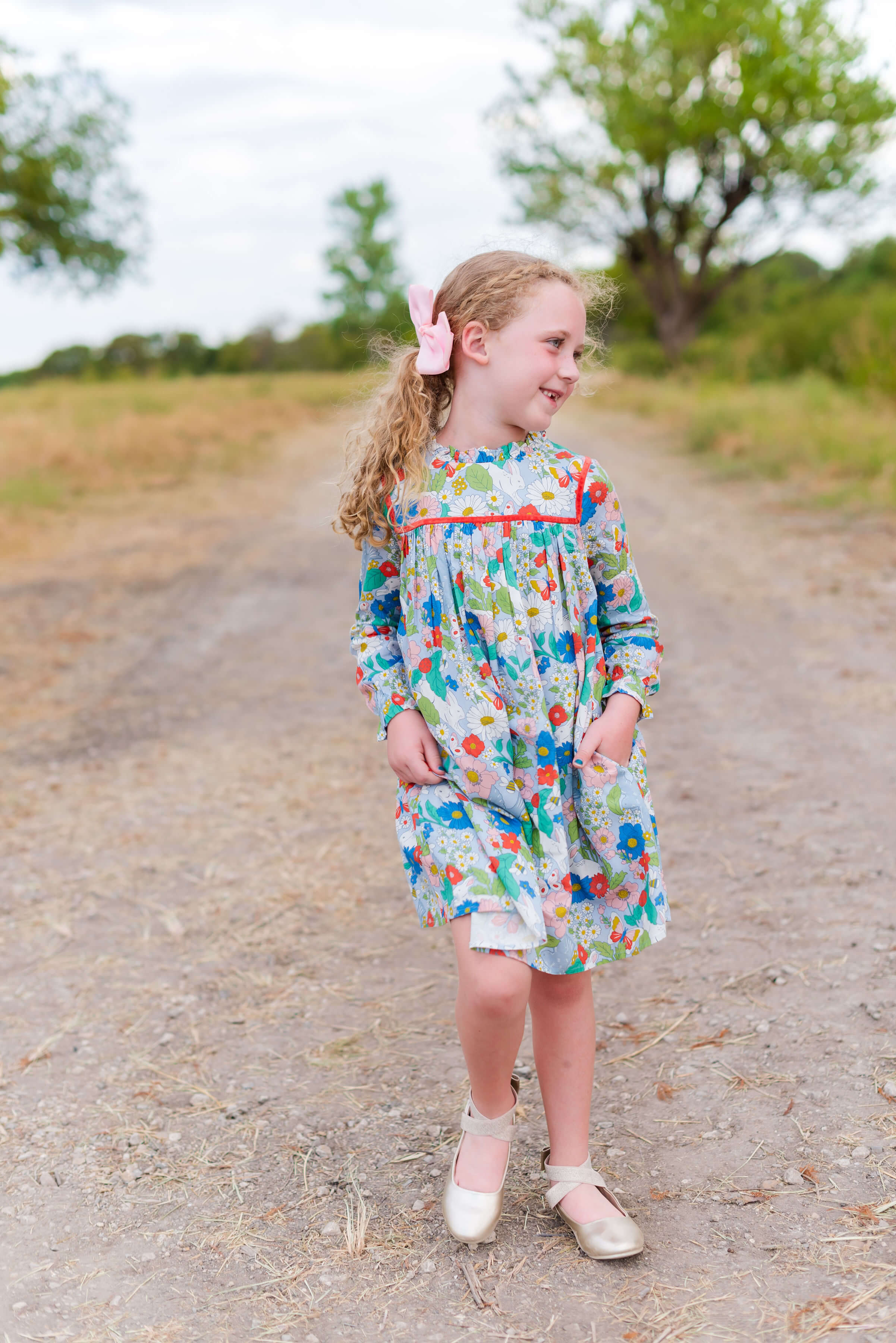 mini boden little girls at Nordstrom | daddy daughter photos | fall family photo outfit ideas | Style Your Senses